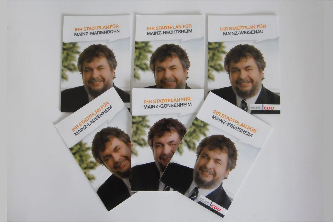 Stadtplan Wolfgang Reichel Wahlbezirke